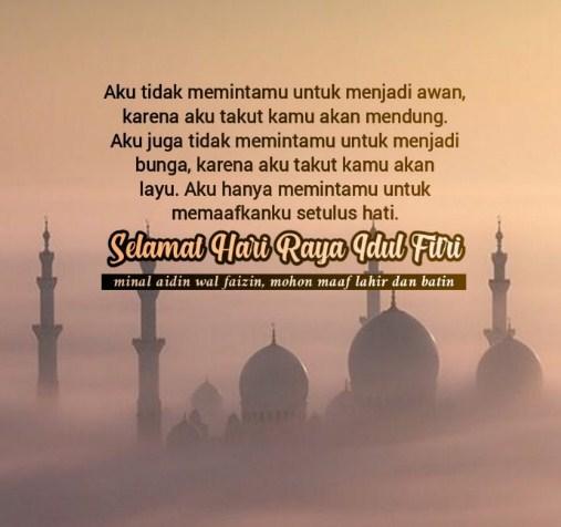 Kartu Ucapan Selamat Idul Fitri 1441 H Bahasa Indonesia