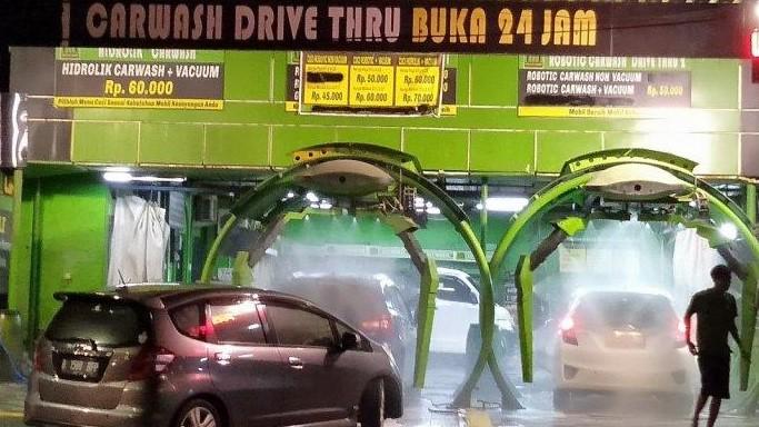 Cuci Mobil 24 Jam