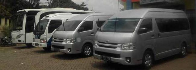 Sewa Elf, Hiace & Bus Pariwisata Bogor