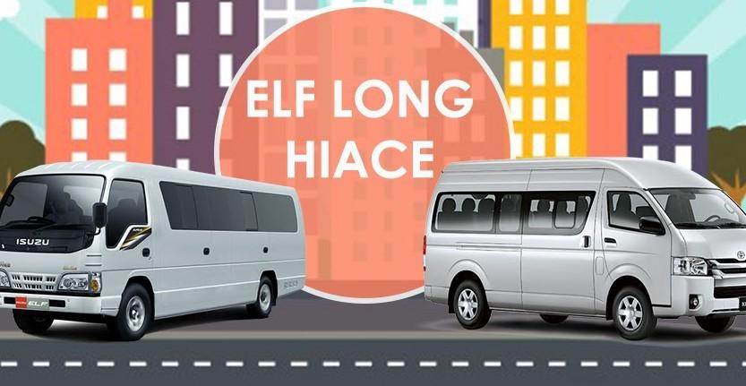 Sewa ELF & Hiace Sidoarjo
