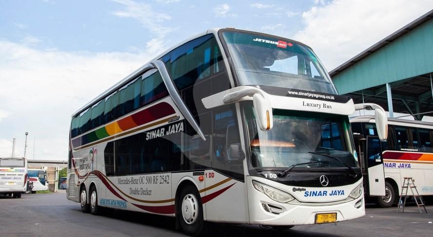 Harga Tiket Bus Sinar Jaya Oktober 2021 | Jadwal & Rute